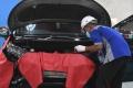 Puluhan Siswa SMK Otomotif Adu Bongkar Pasang Mesin Pada LKS
