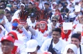 Relawan Nonton Bareng Pelantikan Jokowi-Maruf Amin