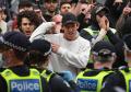 Ricuh Demo Anti Lockdown Di Australia