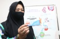 Risa Saraswati Divaksin Covid-19 di RSKIA Kota Bandung