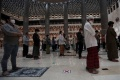 Salat Tarawih Pertama di Masjid Istiqlal