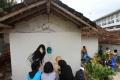 Seniman Mural Beraksi Dalam Festival Mural Kampung Kramat