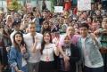 Shandy Aulia Bersama Samuel Rizal dan Shakira Ananda