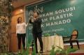 Sosialisai Bioplastic oleh AVANI kepada warga Kota Manado
