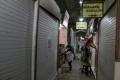 Suasana Pindahan Pedagang Pasar Johar Semarang