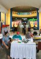Suntik Vaksin Covid-19 Mobili Keliling di Pasar Induk
