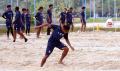 Tim Sriwijaya FC Latihan Fisik di Venue Volly Pantai JSC
