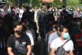 TNI AL Gelar Vaksinasi Kepada 1500 Warga Pesisir Surabaya