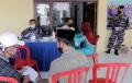 TNI AL Lanal Semarang Gelar Vaksinasi Kedua di Tambak Lorok