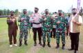 TNI dan Polri Apel Gelar Pasukan Pengamanan PON XX Papua 2021