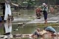 TPU Jeruk Purut Kembali Terendam Banjir