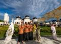 Usai Salat Iduladha di Masjid Raya Baiturrahman Banda Aceh