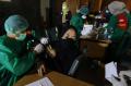 Vaksinasi Covid-19 di Jakarta Islamic Centre