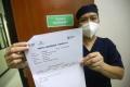 Vaksinasi Covid-19 untuk Tenaga Kesehatan di RSUD Pasar Rebo