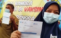 Vaksinasi Guru dan Tenaga Kependidikan di Kecamatan Cicendo