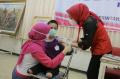 Vaksinasi Kaum Difabel Kota Semarang di YPAC Semarang