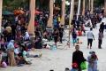 Warga Jakarta Serbu Ancol di Hari Kedua Lebaran