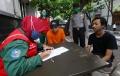 Warga Tak Pakai Masker Dipushup dalam Operasi Yustisi