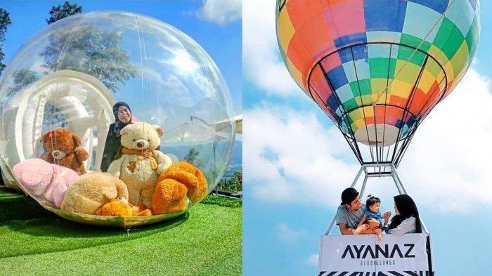 Beberapa contoh spot foto di Ayanaz Gedong Songo