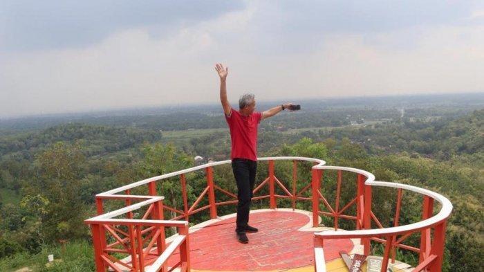Salah satu wahan di objek wisata Bukit Cinta Klaten
