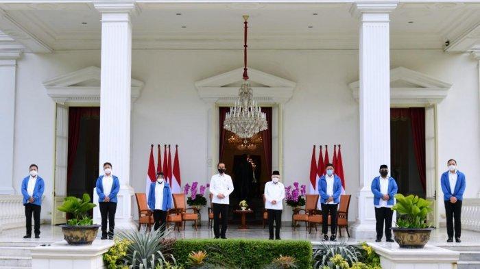 Presiden Joko Widodo mengumumkan enam nama yang akan segera bekerja sebagai anggota Kabinet Indonesia Maju. Keenam figur tersebut ialah Tri Rismaharini, Sandiaga Salahuddin Uno, Budi Gunadi Sadikin, Yaqut Cholil Qoumas, Sakti Wahyu Trenggono, dan Muhammad Lutfi.