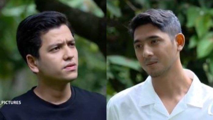 Ricky dan Aldebaran dalam sinetron Ikatan Cinta