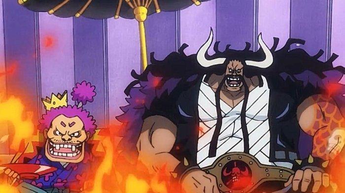Orochi dan Kaido dalam Anime One Piece 974