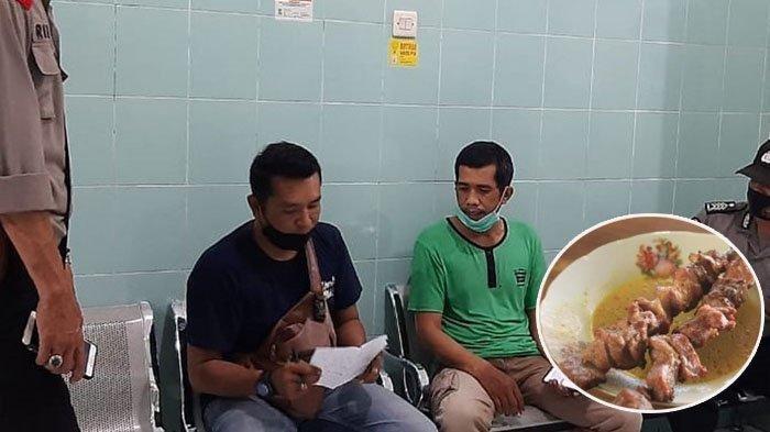 Polisi melakukan penyelidikan terkait kasus Paket Sate Bakar di Bantul.