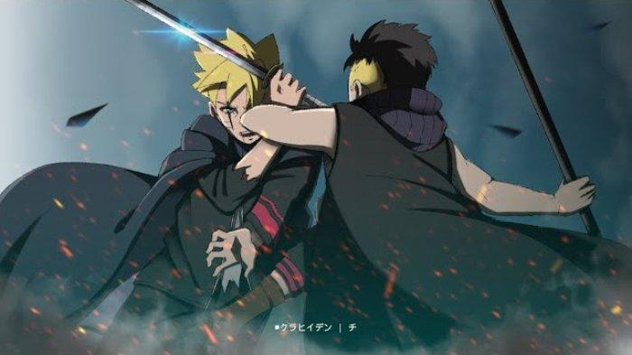 Boruto vs Kawaki dalam Boruto: Naruto Next Generations