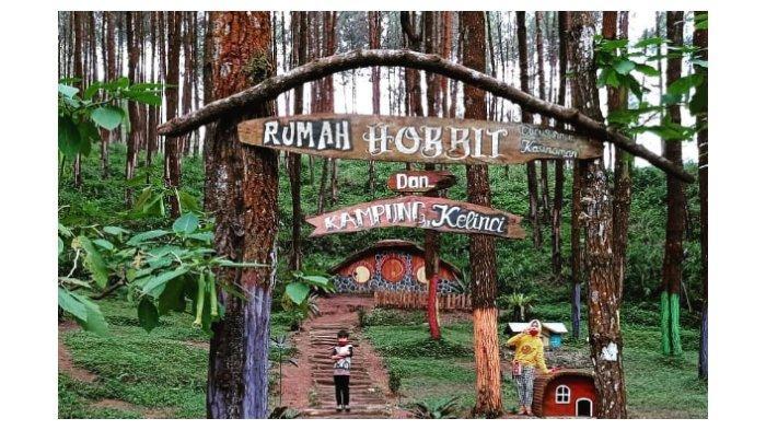 Rumah hobbit dan kampung kelinci.