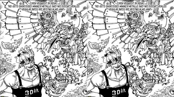 Eustass Kidd di One Piece