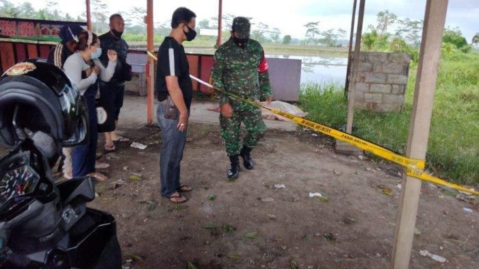 Foto Polsek Pakisaji:mayat wanita telanjang ditemukan di Malang pada Selasa (23/3/2021)