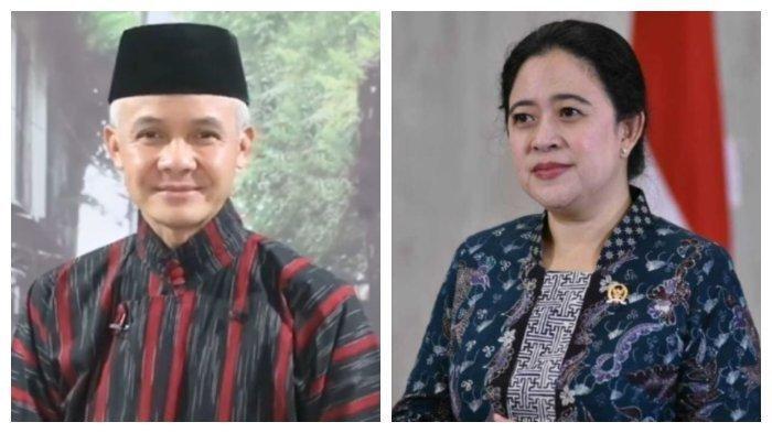 Ganjar Pranowo dan Puan Maharani