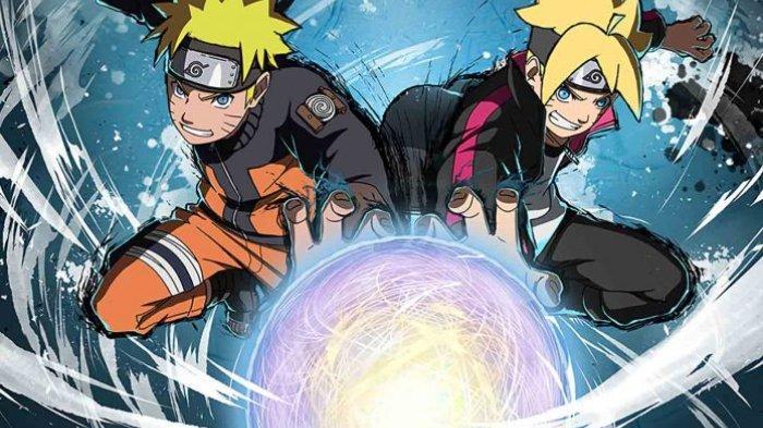 Rasengan milik Naruto dan Boruto