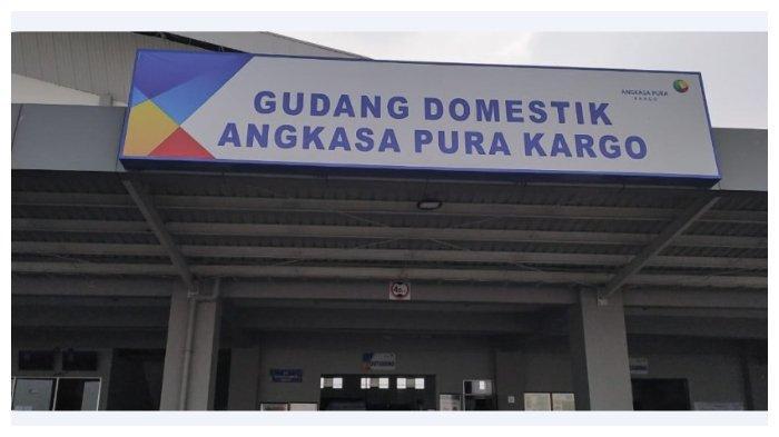 Gudang domestik PT Angkasa Pura Kargo