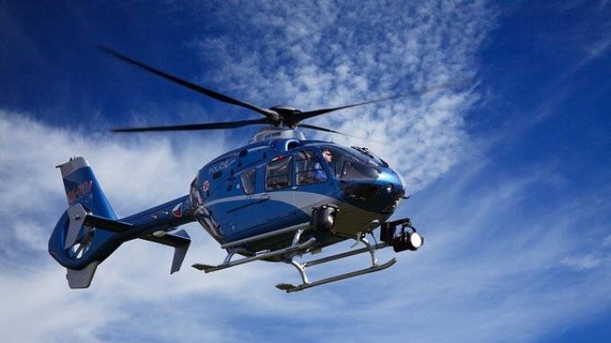 ILUSTRASI helikopter milik Inggris