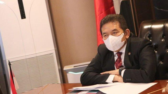 Jaksa Agung ST Burhanuddin hadir di Kongres Perserikatan Bangsa-Bangsa (PBB) tentang Pencegahan Kejahatan dan Peradilan Pidana ke-14 yang diselenggarakan di Kyoto, Jepang, Rabu (10/3/2021).
