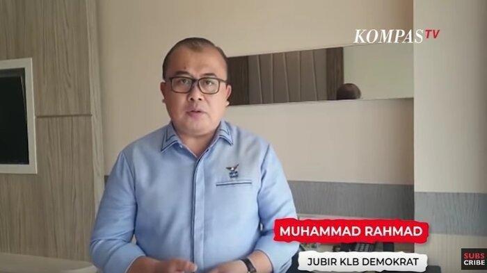 Juru Bicara KLB Demokrat, Muhammad Rahmad.