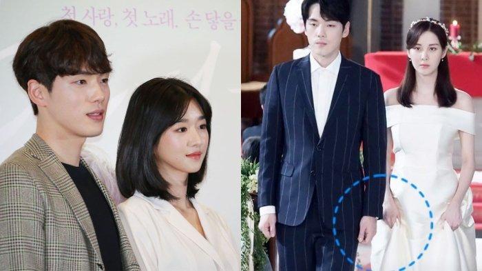 Kim Jung Hyun dan Seo Ye Ji, kekasih yang dikabarkan melarang untuk beradegan mesra.