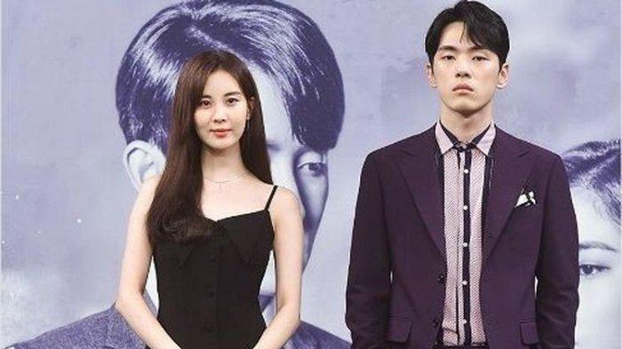 Kim Jung Hyun dan Seohyun SNSD yang membintangi drama Time (2018)
