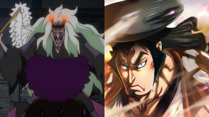 Kurozumi Higurashi  dan Kozuki Oden di One Piece