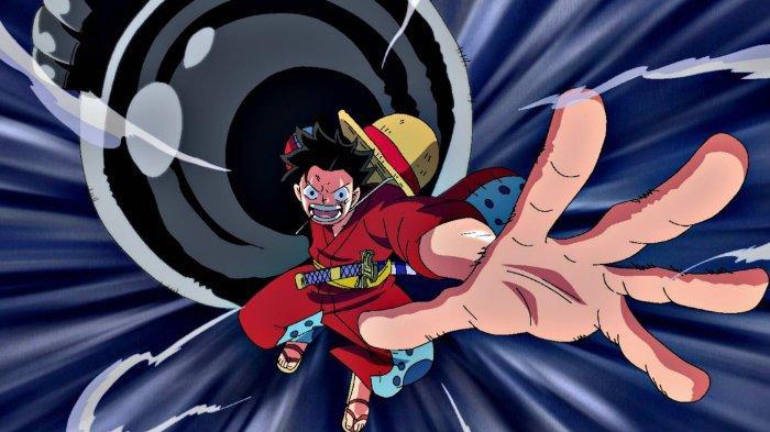 Luffy dengan Gear 3 di One Piece