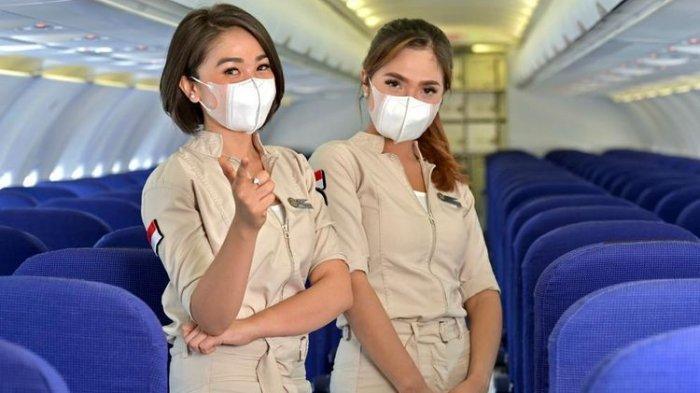 Pesawat Super Air Jet ini merupakan maskapai penerbangan swasta kategori layanan pengangkutan penumpang berjadwal harian yang berasal dari Indonesia. Pramugari Super Air Jet, maskapai baru yang berencana melakukan penerbangan perdana dalam waktu dekat.