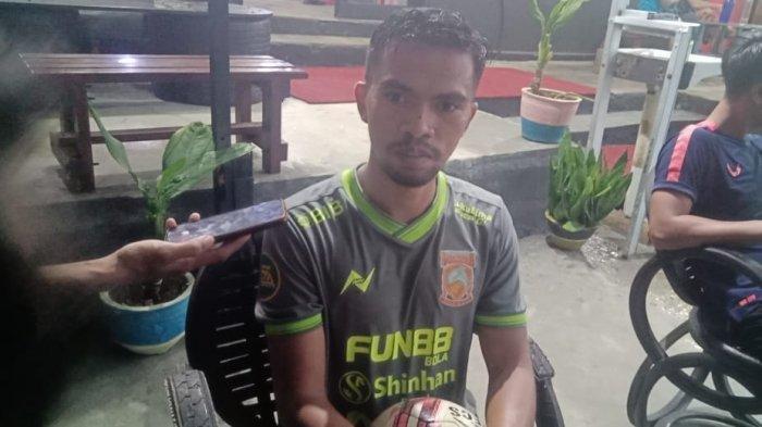 Pemain Borneo FC Wiranto