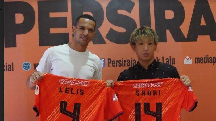 Pemain asing Persiraja, Shori Murata dan Leonardo Lelis asal Brazil.