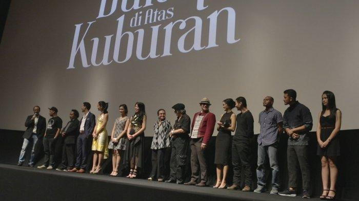 Pemutaran perdana Film Bulan di Atas Kuburan #Bukanfilmhoror