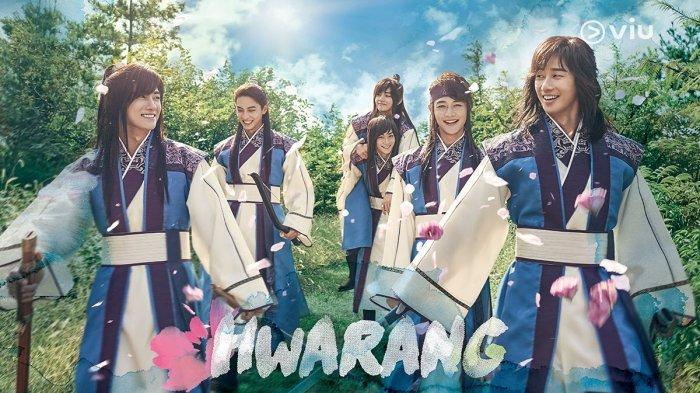 Poster Drama Hwarang (2016)