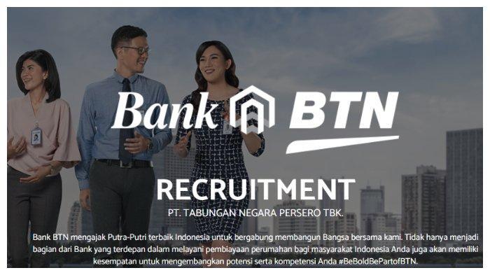 Rekrutmen Bank BTN