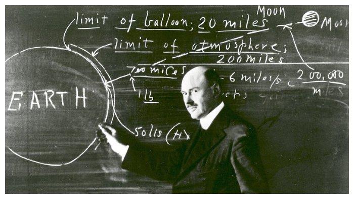 Robert Goddard di Clark University