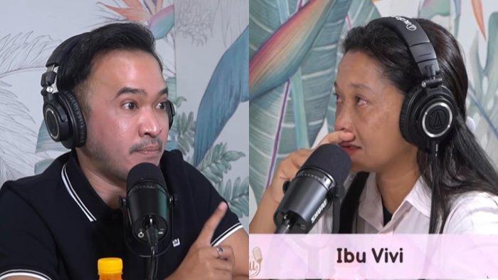 Ruben Onsu mengungkapkan perilaku Betrand Peto terhadap ibu kandungnya.